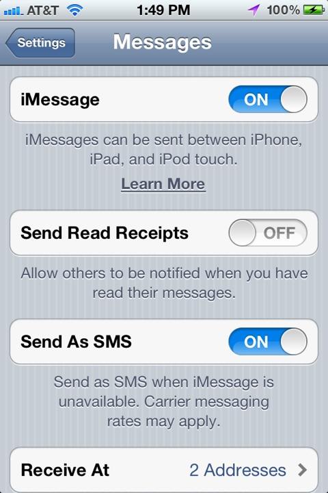 iOS 5 Tip: Enable iMessage's Read Receipt Feature | Proud Geek